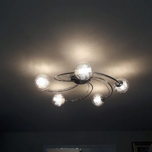 Ceiling Light Installation